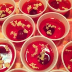 Cherry bombs with lemon sugar