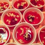 Cherry bombs with lemonsugar