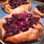 Tuaca Blueberry, Brie & Lemon Galette!