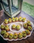 KETO: Fried Guac DeviledEggs!